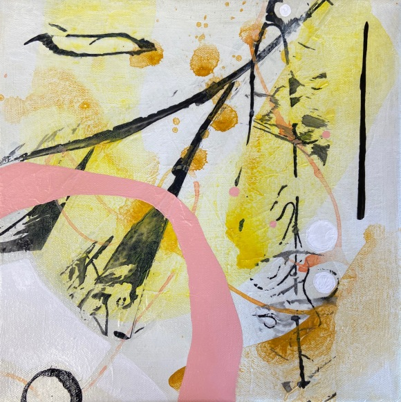 abstract painting B. Youngquist Art