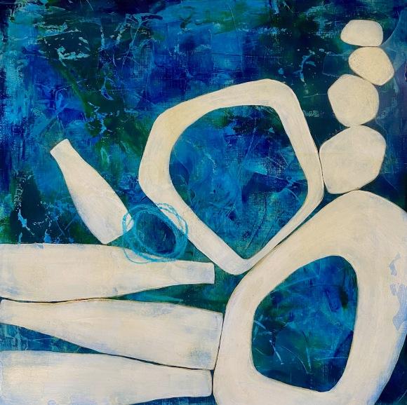Precarious painting