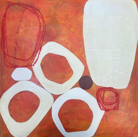 Un Dot Acrylic Painting